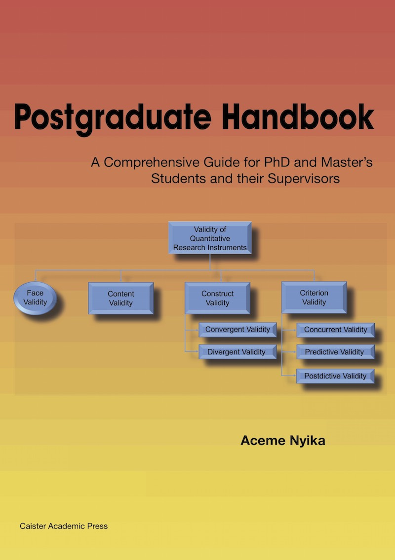 Postgraduate Handbook: A Comprehensive Guide for PhD and Master's Students and their Supervisors